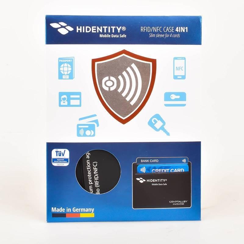 PorteCartes Protection RFIDNFC Pour Cartes - Porte cartes sécurisé protection rfid nfc