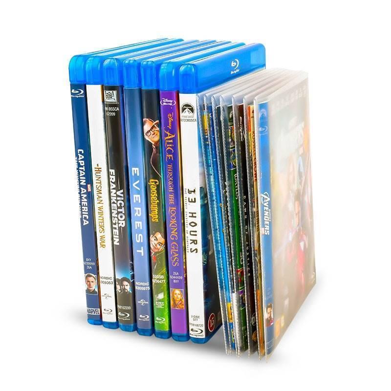 performance fiable comment trouver prix réduit Pochette Blu-Ray pour rangement Blu-Ray - 50 pcs