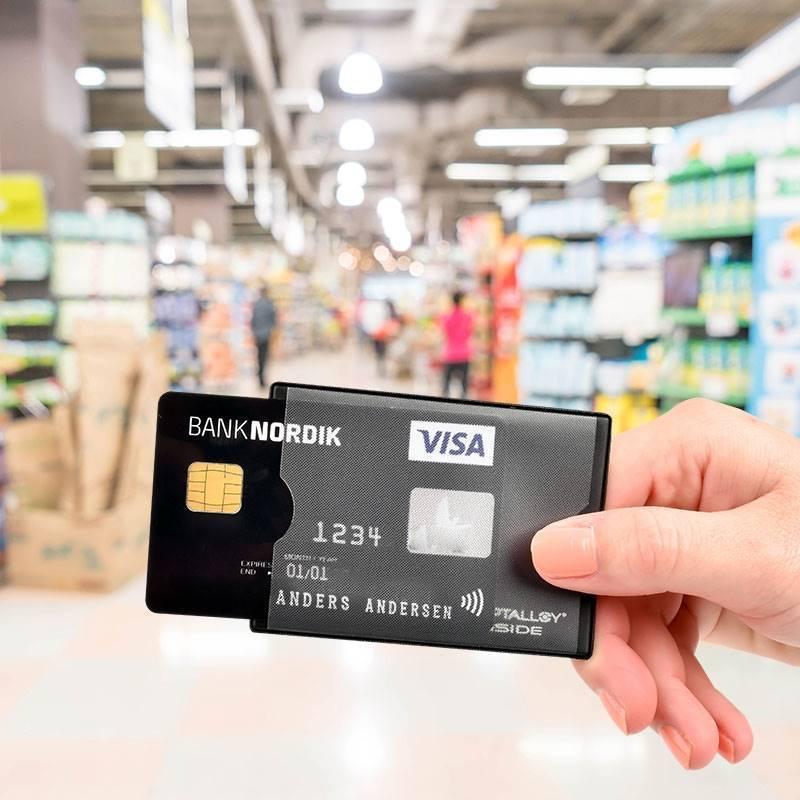 PorteCartes Sécurisé Protection RFIDNFC - Porte cartes sécurisé protection rfid nfc